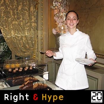 Nina Métayer, le tea time de l'Hôtel Raphaël