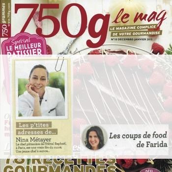 Les petites adresses de Nina Métayer : Magazine 750g