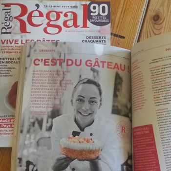 Nina Métayer : Magazine Régal octobre 2014