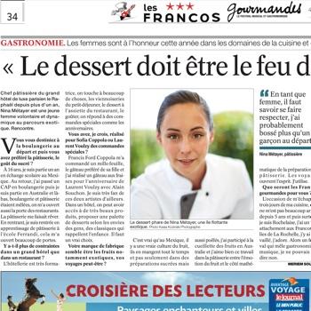 Nina Métayer le JSL Francos Gourmandes 2015