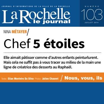 Nina Métayer : revue de presse La Rochelle Le Journal 2014