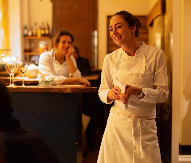 Bold Woman Dinner: Nina Métayer and Adeline Grattard